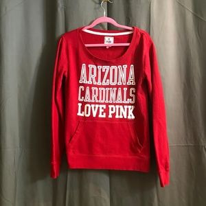 NFL Arizona Cardinals Love Pink - Red Sweater M